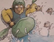 Paddel – Comics und andere….