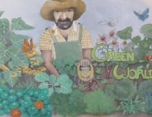 "Messestands – Entwurf für Josef Matzinger ""Green World"""