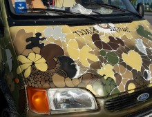 Camouflage Ford Transit