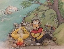 Comics, Karikaturen